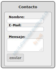 Modulo Contacto Prestashop Columna