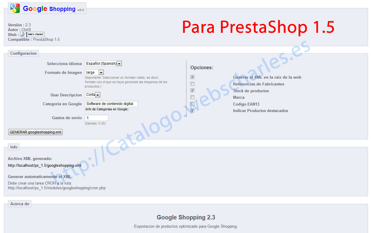 Guia google shopping, google merchant y prestashop