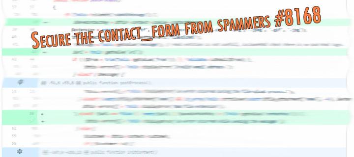 (Solución) spam ruso en formulario de contacto de Prestashop